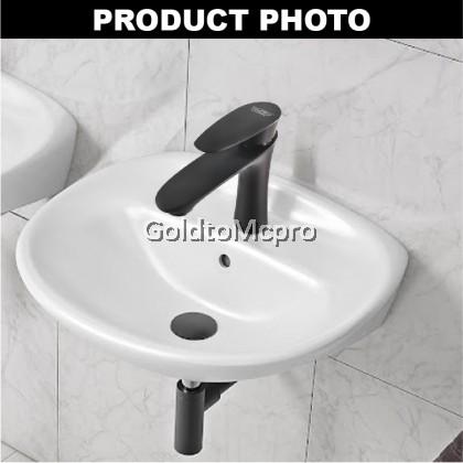 MCPRO Black Oxide Coated Bathroom Faucet PILLAR SINK BASIN WATER TAP LEAF- CY36B